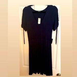 Express Navy Blue Dress Medium
